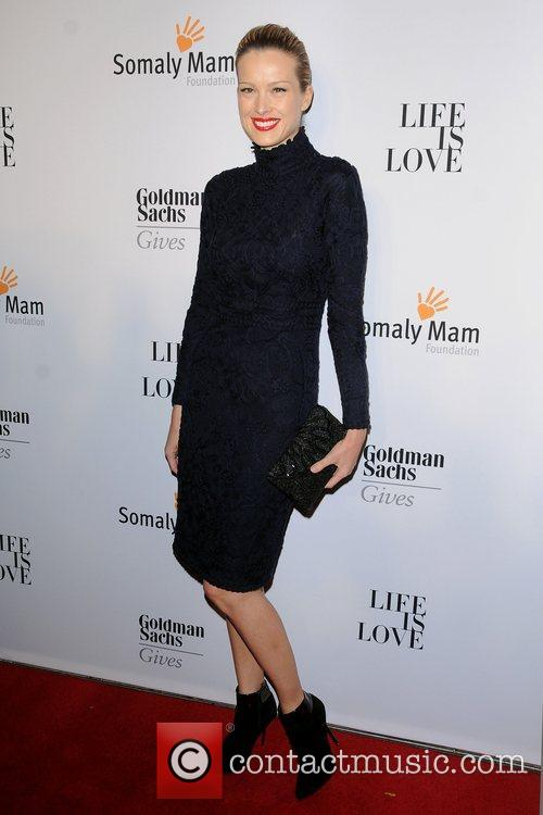 Petra Nemcova at the 2012 Somaly Mam Foundation...