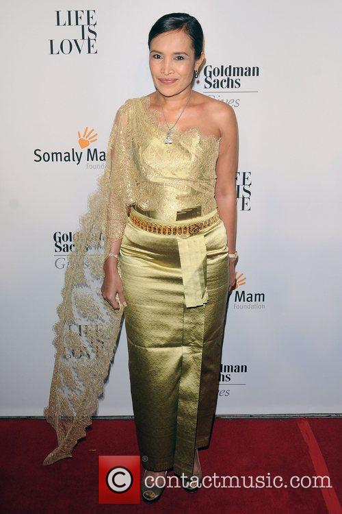 Somaly Mam at the 2012 Somaly Mam Foundation...