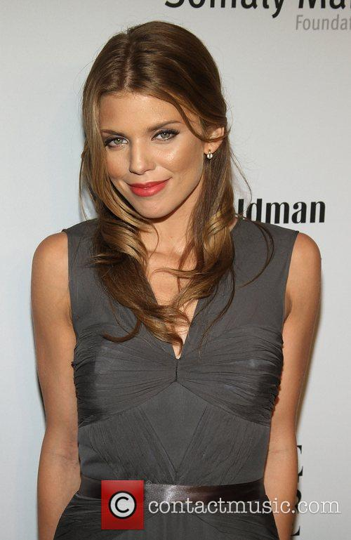 Annalynne McCord attends the Somaly MAM Foundation Gala...