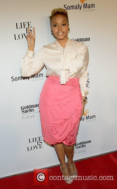 Chrisette Michele  attends the Somaly MAM Foundation...