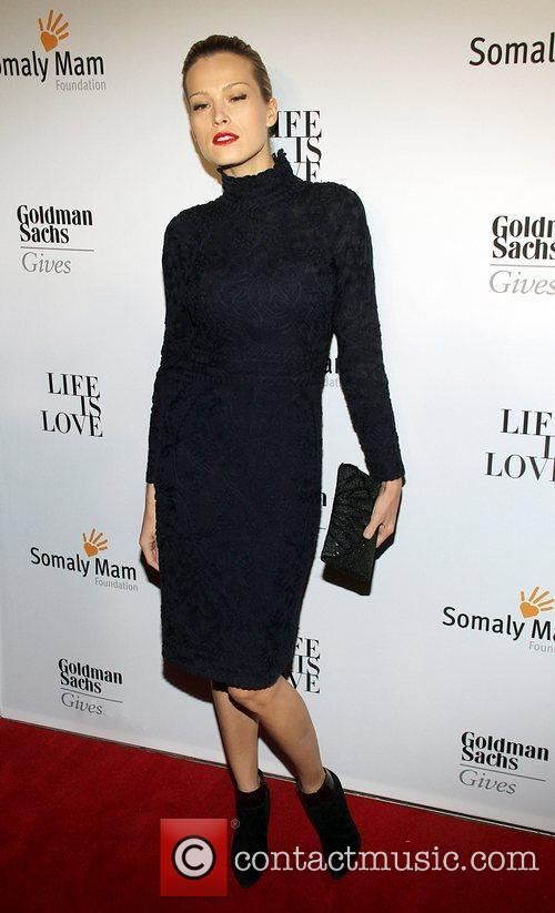 Attends the Somaly MAM Foundation Gala