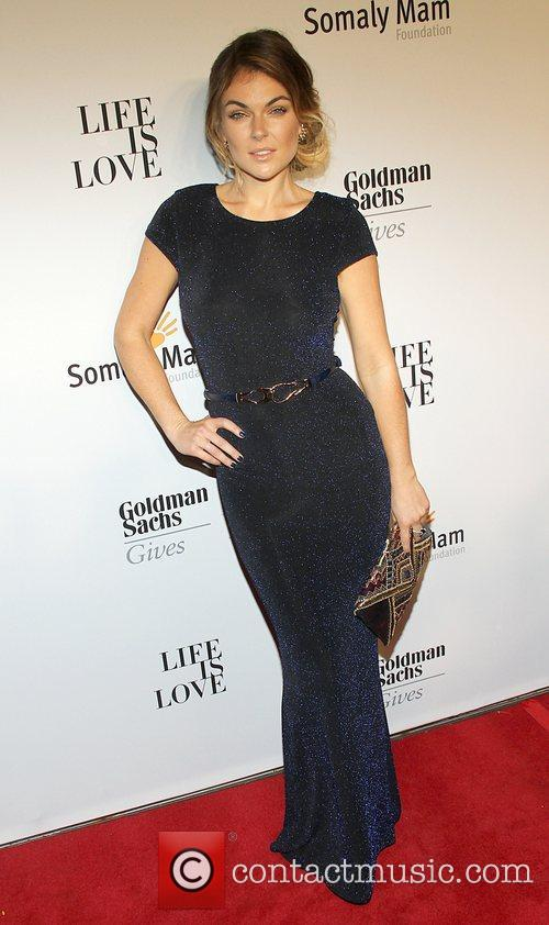 Serinda Swan attends the Somaly MAM Foundation Gala...