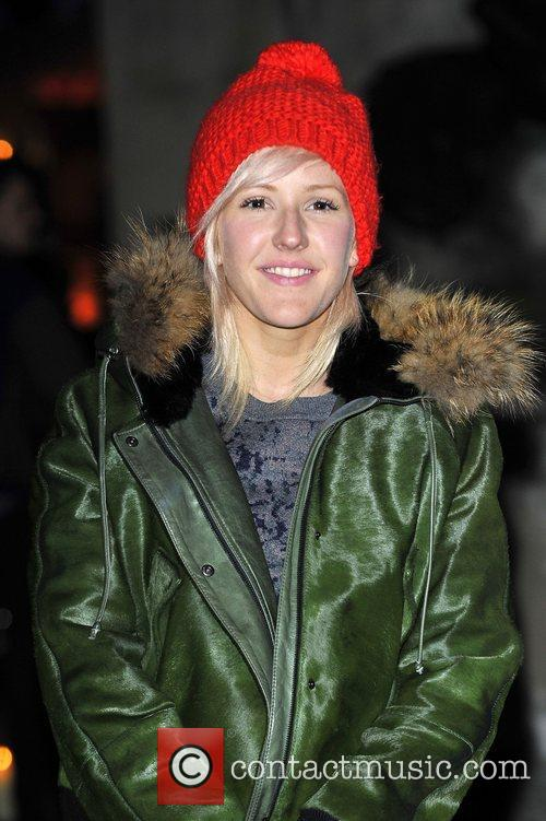 ellie goulding at the launch party for 4176980