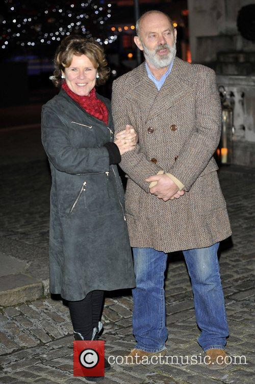 Imelda Staunton and Keith Allen,  at the...