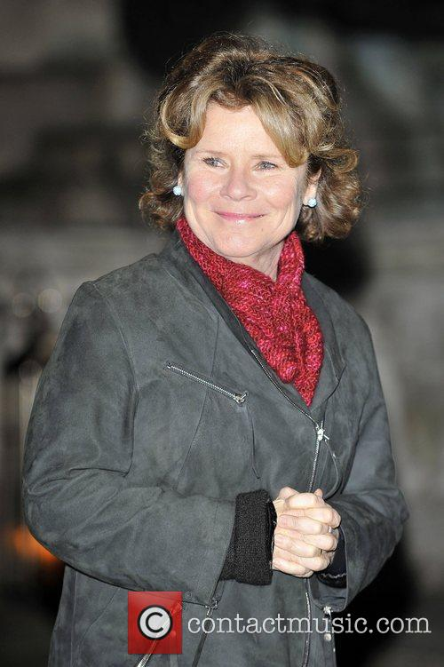 Imelda Staunton,  at the launch party for...