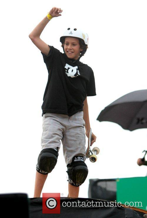 Jagger Eaton Sony Big Air Triples competition on...