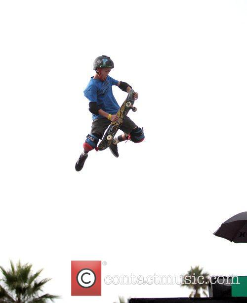 Trey Wood Sony Big Air Triples competition on...