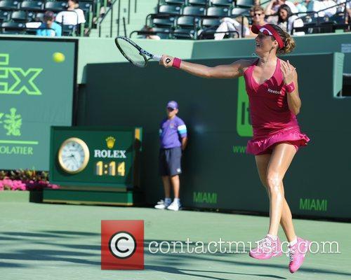 Sony Ericsson Open at the Crandon Park Tennis...