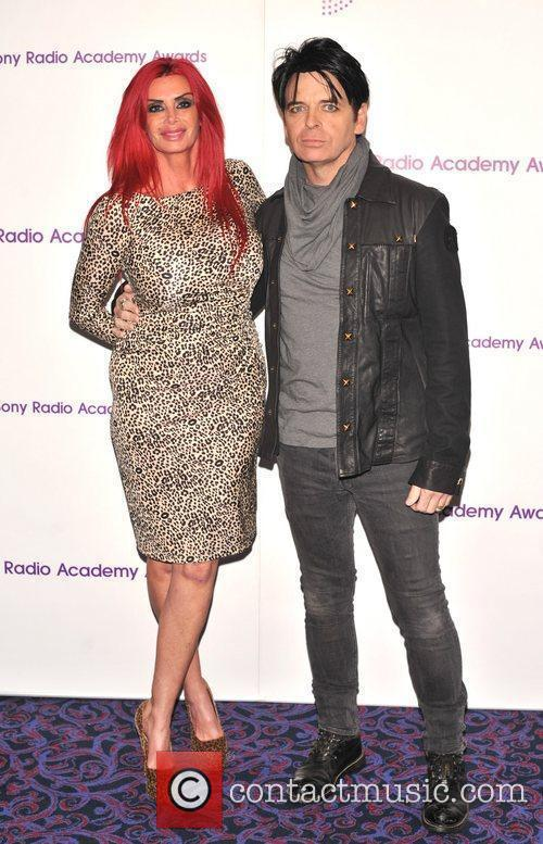 Gary Numan and guest 30th Sony Radio Academy...