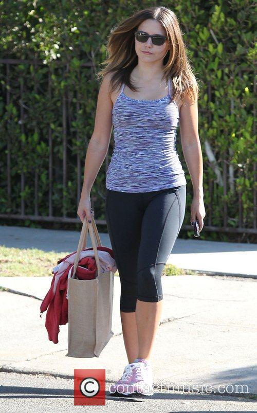 Sophia Bush at the gym in West Hollywood.