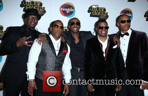Bobby Brown, Michael Bivins, Ralph Tresvant, Ronnie Devoe and Ricky Bell