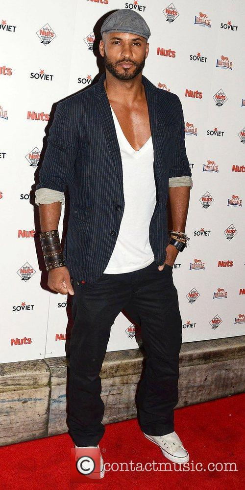 Ricky Whittle,  at The Soviet Nuts Awards...