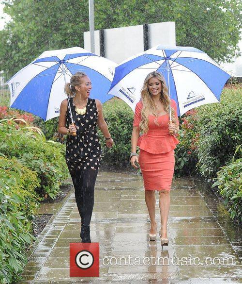 Aisleyne Horgan-Wallace and Nicola McLean The launch of...