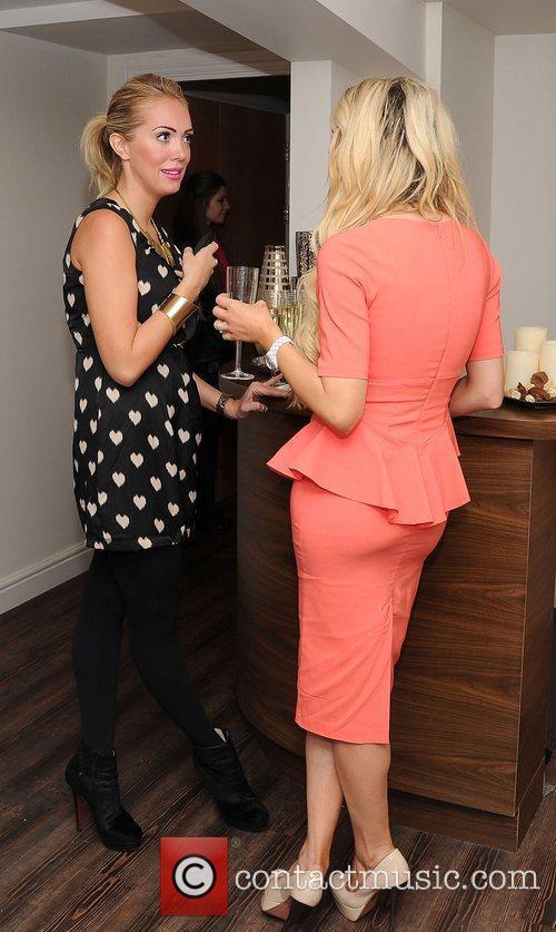 Nicola McLean and Aisleyne Horgan-Wallace The launch of...