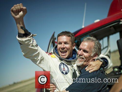 Pilot Felix Baumgartner of Austria and and Technical...