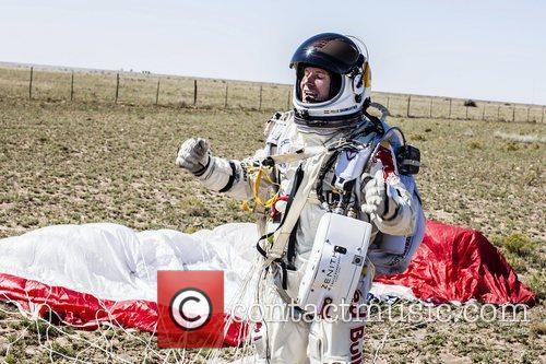 Pilot Felix Baumgartner of Austria...
