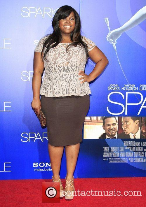 amber riley the los angeles premiere of 4036493