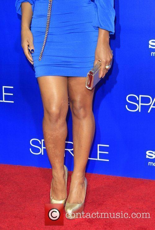 Christina Milian The Los Angeles Premiere of 'Sparkle'...
