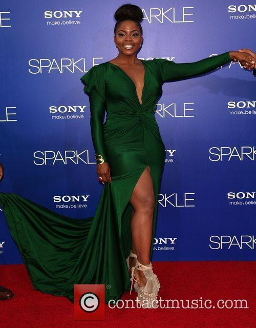 Brely Evans The Los Angeles Premiere of 'Sparkle'...