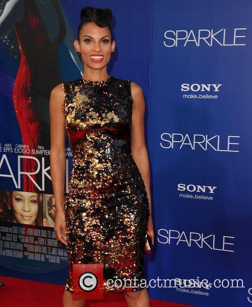 Goapele The Los Angeles Premiere of 'Sparkle' -...