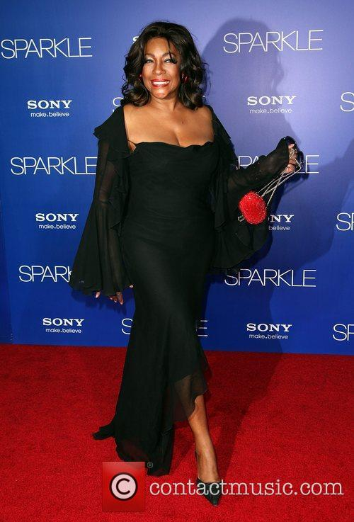 Mary Wilson Los Angeles Premiere of 'Sparkle' at...