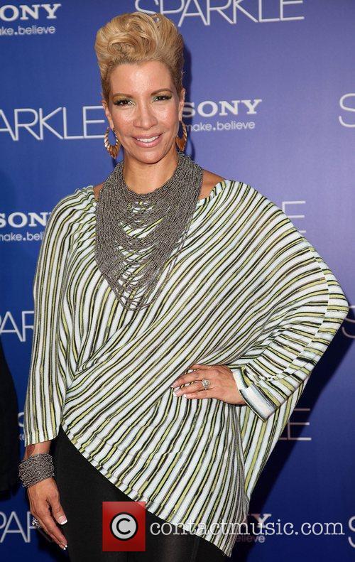 Rebecca Crews Los Angeles Premiere of 'Sparkle' at...