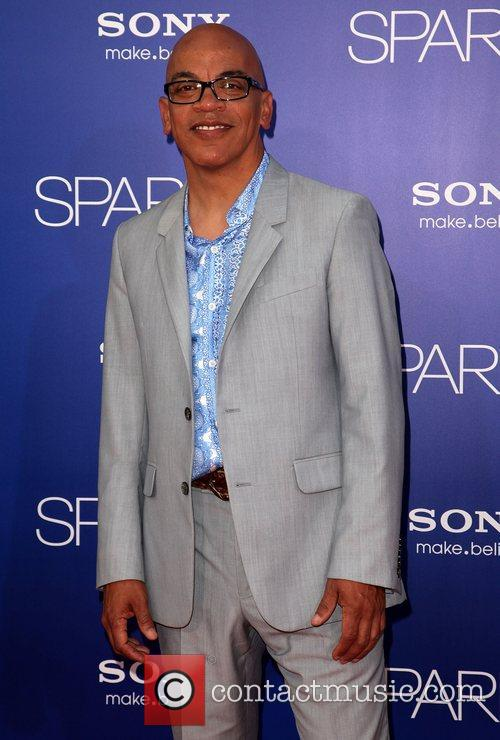 Ricky Minor Los Angeles Premiere of 'Sparkle' at...