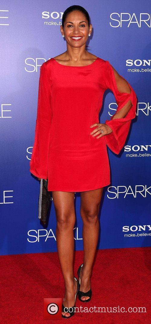Salli Elise Richardson-Whitfield Los Angeles Premiere of 'Sparkle'...
