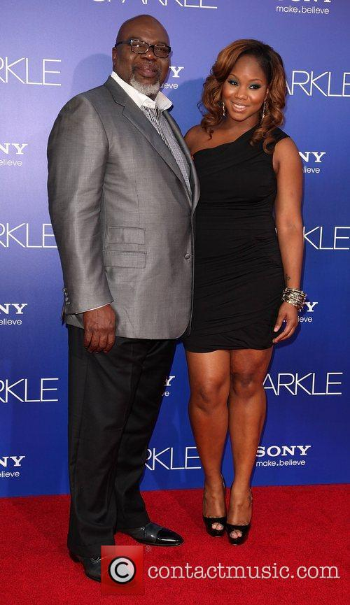 T.D. Jakes and guest Los Angeles Premiere of...