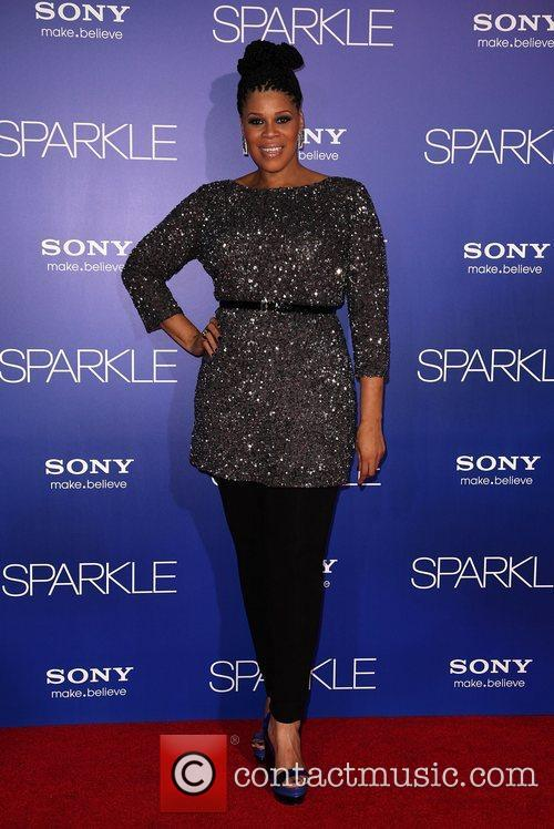 Twinkie Byrd Los Angeles Premiere of 'Sparkle' at...