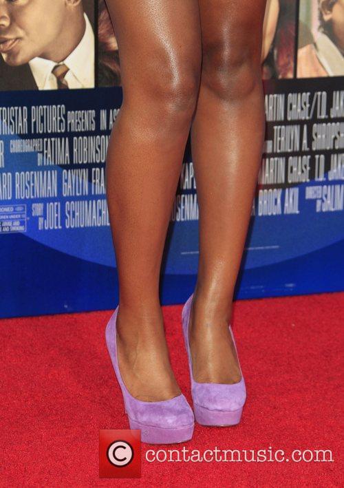 Keke Palmer  Los Angeles Premiere of 'Sparkle'...