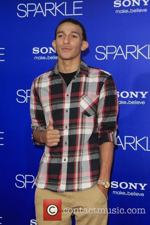 Khleo Thomas  Los Angeles Premiere of 'Sparkle'...