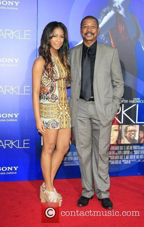Robert Townsend and guest  Los Angeles Premiere...