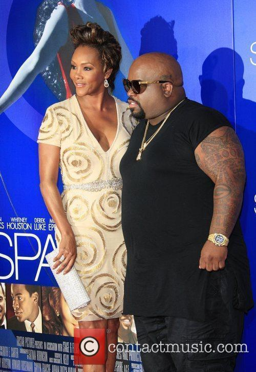 Vivica A Fox, Cee-lo Green and Grauman's Chinese Theatre 3