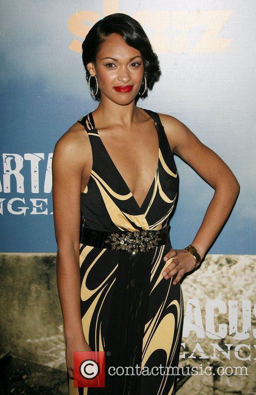 Cynthia Addai-Robinson Premiere of Starz' Spartacus: Vengeance held...