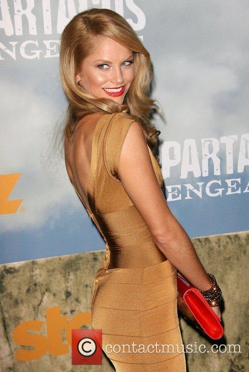 Ellen Hollman Premiere of Starz' Spartacus: Vengeance held...