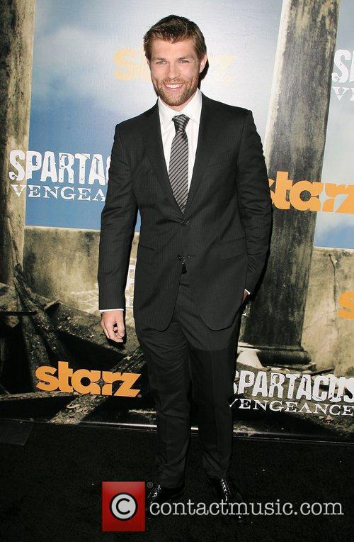 Liam McIntyre Premiere of Starz' Spartacus: Vengeance held...