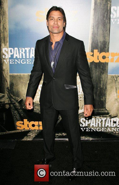Premiere of Starz' Spartacus: Vengeance held at the...