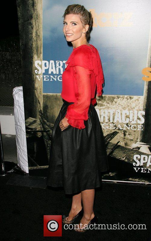 Viva Bianca Premiere of Starz' Spartacus: Vengeance held...