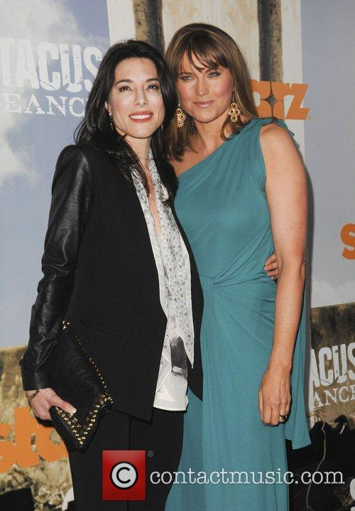 Jaime Murray, Lucy Lawless and Arclight Cinemas 7