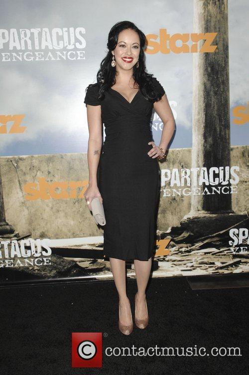 Marisa Ramirez  Premiere of Starz' Spartacus: Vengeance...