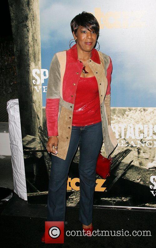 Dawn Lewis Premiere of Starz' Spartacus: Vengeance held...