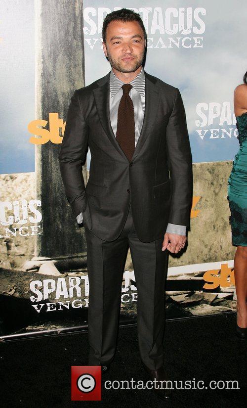 Nick Tarabay Premiere of Starz' Spartacus: Vengeance held...