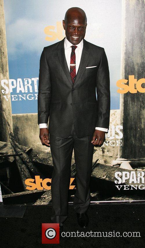 Peter Mensah Premiere of Starz' Spartacus: Vengeance held...