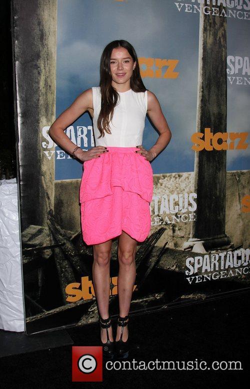Hanna Mangan Lawrence Premiere of Starz' Spartacus: Vengeance...