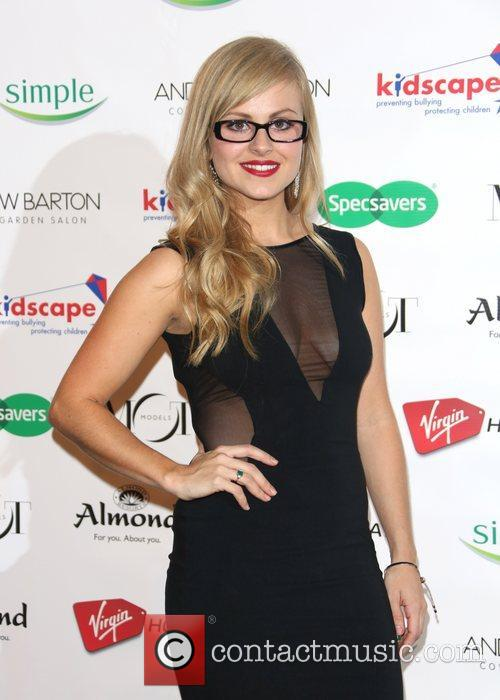 Tina O'Brien Specsavers Spectacle Wearer of the Year...