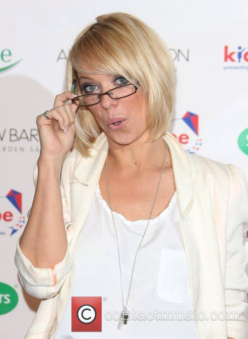 Liz McClarnon Specsavers Spectacle Wearer of the Year...