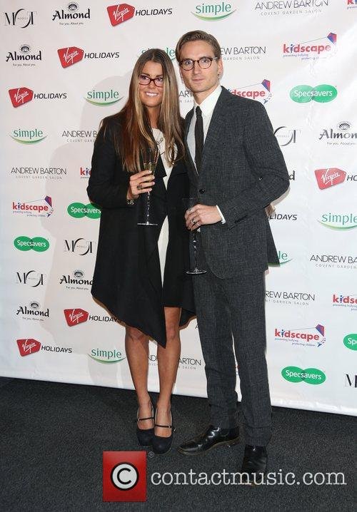 Oliver Proudlock and girlfriend Specsavers Spectacle Wearer of...
