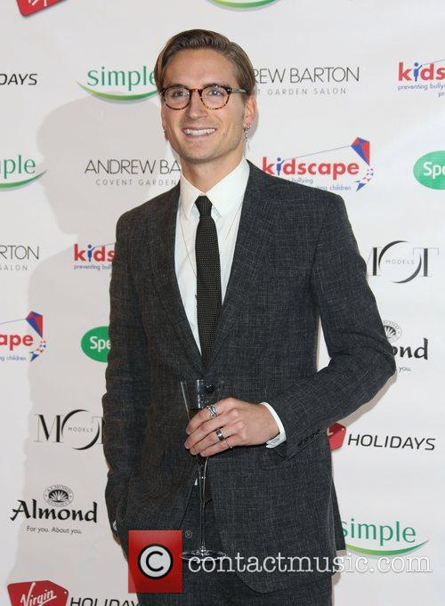 Oliver Proudlock Specsavers Spectacle Wearer of the Year...