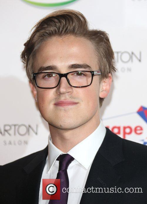 Tom Fletcher Specsavers Spectacle Wearer of the Year...